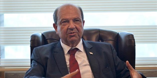 Tatar: 'Kıbrıslı Türkler dışlanırken Guterres çerçevesinde masaya gelmemiz tehlikeli'