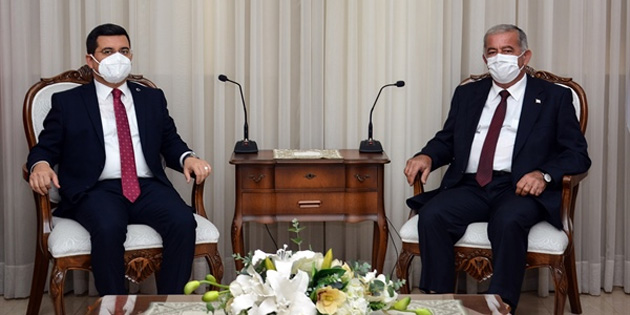 Sennaroğlu, Akdeniz Belediyeler Birliği heyetini kabul etti