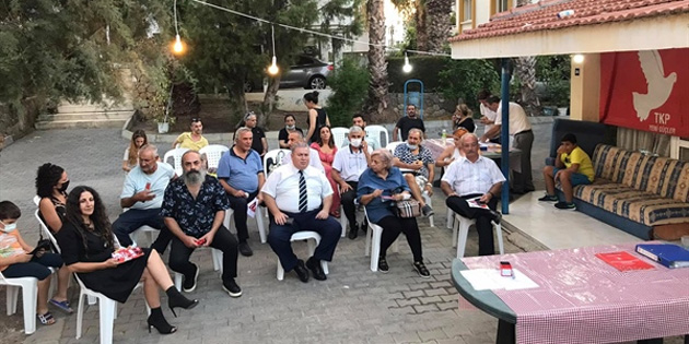 TKP Girne İlçe Başkanlığı'na yeniden Yurdaer Garip seçildi