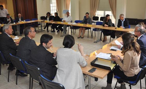 Bazı Kıbrıs Türk ve Rum siyasi partilerinin, aylık rutin toplantısı bugün yapıldı.