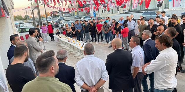MDP Lefkoşa İlçe Örgütü binası açıldı