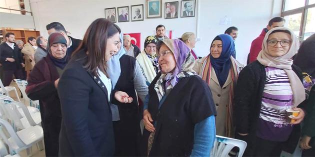 Baybars, Gazimağusa-Maraş bölgesinde vatandaşla sohbet etti