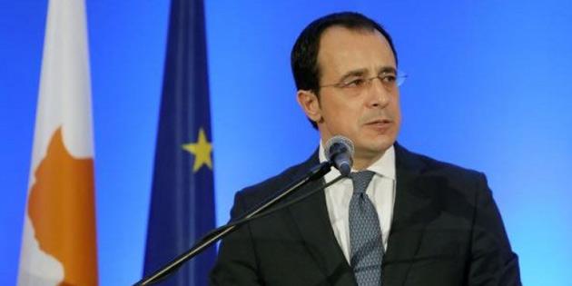 Hristodulidis: 'Kıbrıs sorununun çözüm zemininde değişikliğin görüşülmesi söz konusu değil'