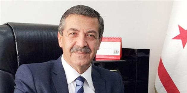 Dışişleri Bakanı Ertuğruloğlu, Kıbrıs konulu 5+1 gayriresmi toplantıya ilişkin açıklamalarda bulundu