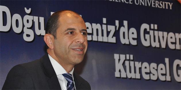 """""""Doğu Akdeniz'de güvenlik, enerji stratejileri ve küresel güç ilişkileri"""" konulu konferans yapıldı"""