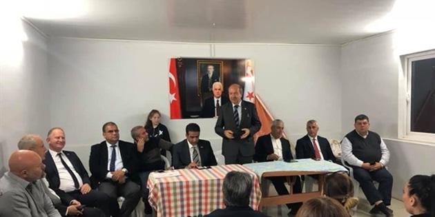 """Tatar: """"halk UBP iktidarını istiyor"""""""