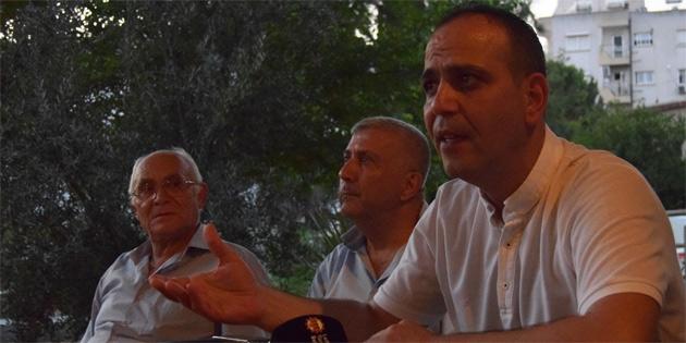 Harmancı, Yenişehir'de halkla bir araya geldi