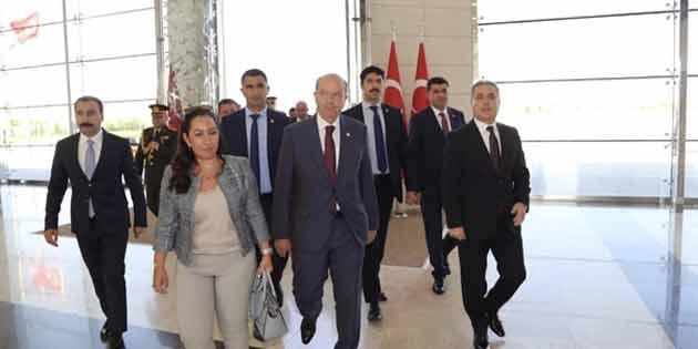Başbakan Tatar Türkiye'de