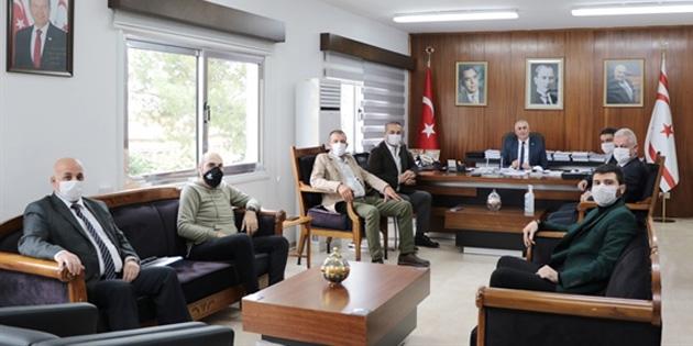 Maliye Bakanı Amcaoğlu, Res-Bir Yönetim Kurulu Üyelerini kabul etti