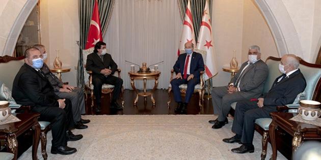 """Cumhurbaşkanı Tatar: """"Sağlık olmadan insanları ülkeye çekmek mümkün değil"""""""