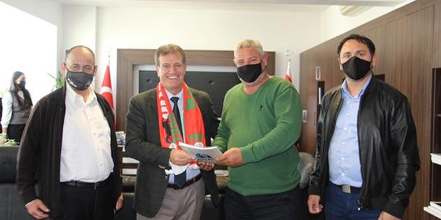 Arıklı, Ortaköy Spor Kulübü'nü kabul etti