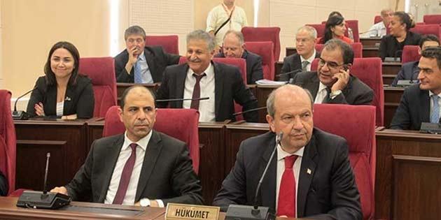 UBP-HP hükümet programı meclis'te okunacak