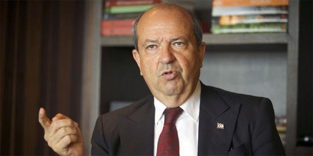 """""""Kıbrıs Türkü dün olduğu gibi bugün de, asla haklarından, hukukundan taviz vermeyecektir"""""""