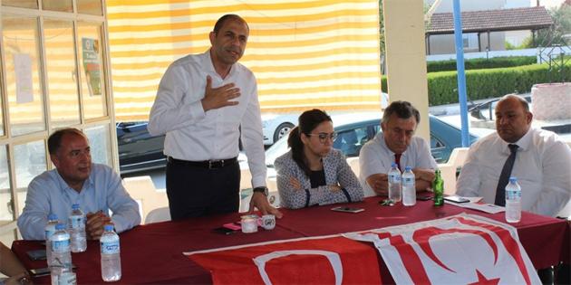 HP Paşaköy ve Vadili Belediye Başkanı adayları halkla bir araya geldi