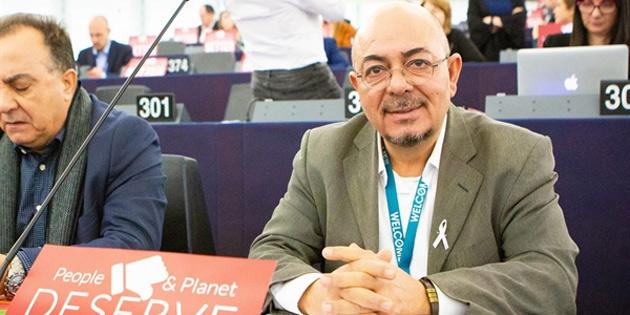 AP üyesi Kızılyürek Avrupa Parlamentosu'na seçilmesinin birinci yılı nedeniyle açıklama yaptı