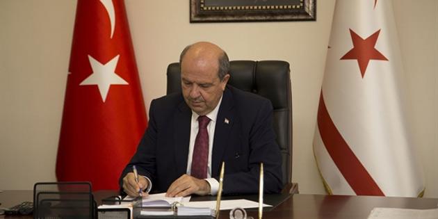 Başbakan Tatar taziye mesajı yayımladı