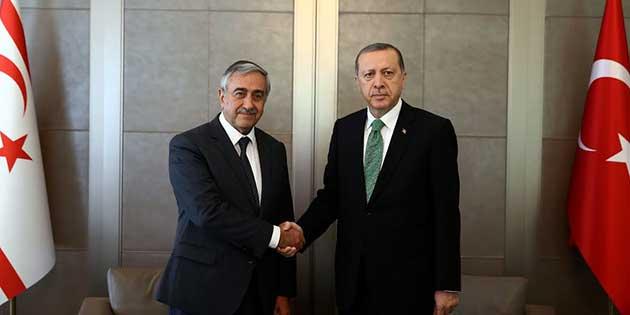 Cumhurba�kan� Ak�nc�, T�rkiye Cumhurba�kan� Erdo�an ile bir araya geldi