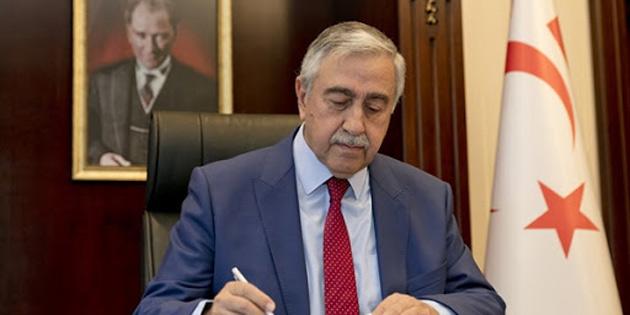 Cumhurbaşkanı Akıncı, TC Cumhurbaşkanı Erdoğan ve Türkiye Milli Savunma Bakanı Akar'a taziye mesajı gönderdi