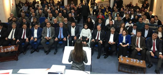 "Tatar: ""UBP, plan, proje, yatırım partisidir"""