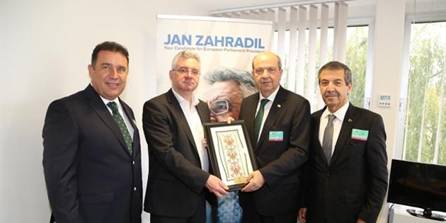 Başbakan Ersin Tatar, Strazburg'ta