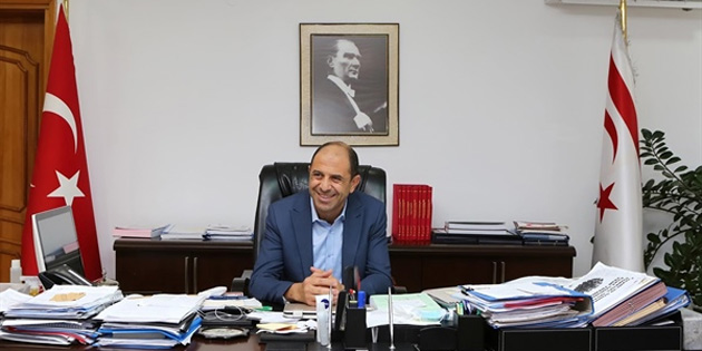 """Özersay: """"Kıbrıs Türk halkının iradesine güveniyorum"""""""