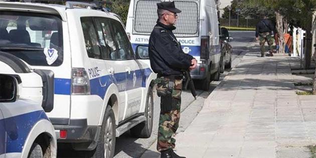 Fransa'nın Güney Kıbrıs'taki Büyükelçiliği önünde önlemler arttırıldı