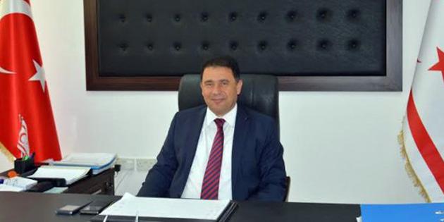 """Saner, """"1 Mayıs Emek ve Dayanışma Günü '  dolayısıyla mesaj yayınladı"""