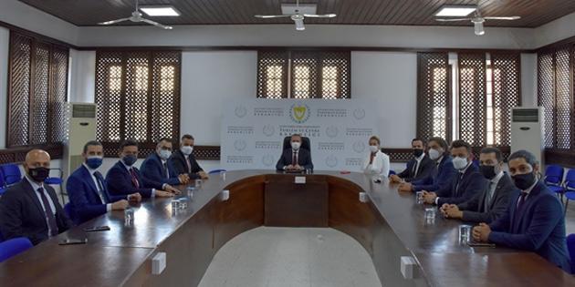 Bakan Ataoğlu, ASKON Heyetini kabul etti