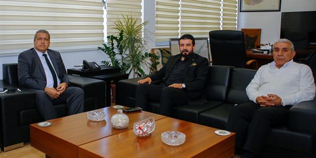 YDP Milletvekili Bertan Zaroğlu İsmail Arter'i ziyaret etti
