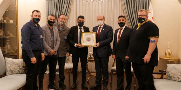 """Tatar: """"Kıbrıs Türk gençliği en büyük haksızlığa spor ambargosundan dolayı uğruyor"""""""