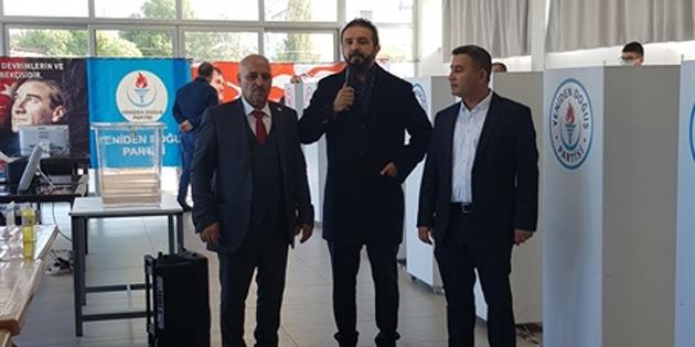 YDP Gazimağusa İlçe Kongresi yapıldı