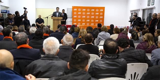 UBP, Değirmenlik'te etkinlik düzenledi