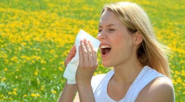 Bahar yorgunluğunun nedeni 'alerji'