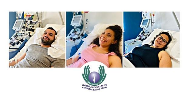 Üç Kıbrıslı Türk daha kök hücre bağışında bulundu