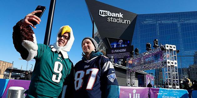 52. Super Bowl maçına sosyal medyada büyük ilgi