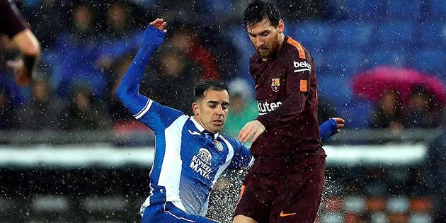 Barcelona Katalan derbisinde puan kaybetti