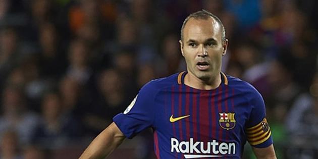 Barcelona, Iniesta ile ömürlük kontrat imzaladı!
