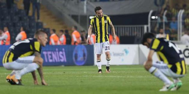 Fenerbahçe'den çok kötü seri