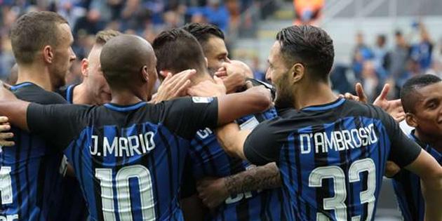 Inter, Spal'i devirdi