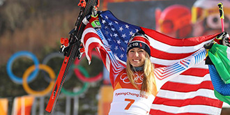 Alp disiplini büyük slalom yarışını ABD'li sporcu kazandı