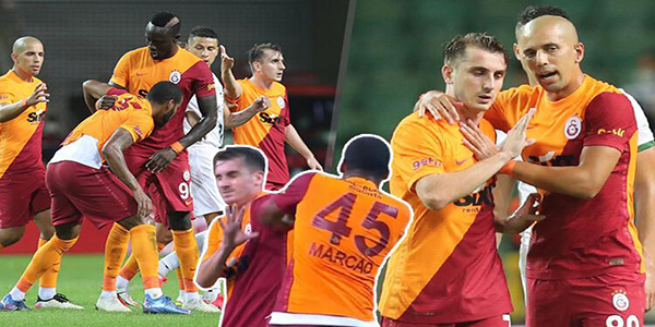 Marcao'ya 8 maç ceza verildi!