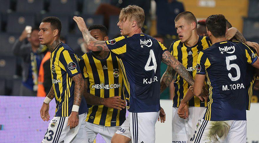 Derbilerde Fenerbahçe üstün