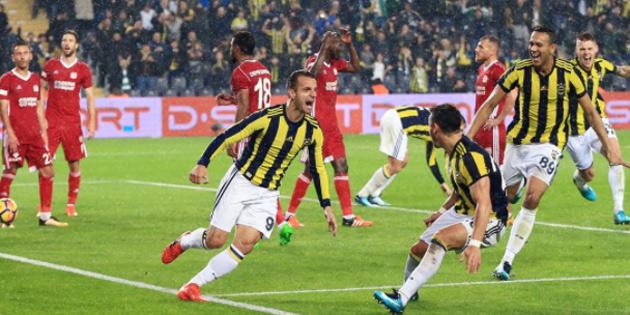 Soldado, Fenerbahçe'ye hayat verdi