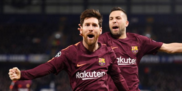 Messi, 8 maç sonra ilk kez Chelsea'ye gol attı