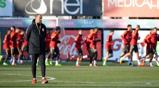 Galatasaray, Beşiktaş derbisi hazırlıklarını sürdürüyor