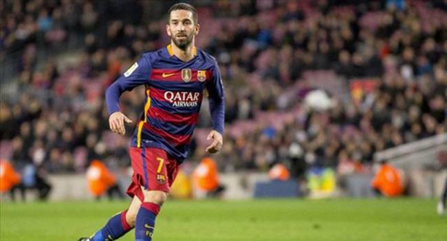 Barcelona taraftar�ndan Arda Turan'a �ok