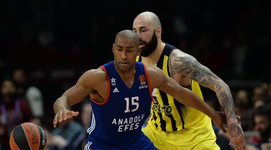 Anadolu Efes 80-77 Fenerbahçe