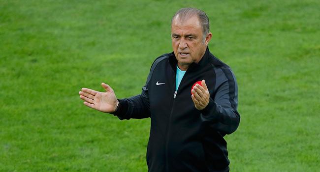 ��te Fatih Terim'in futbolcular�na son s�zleri