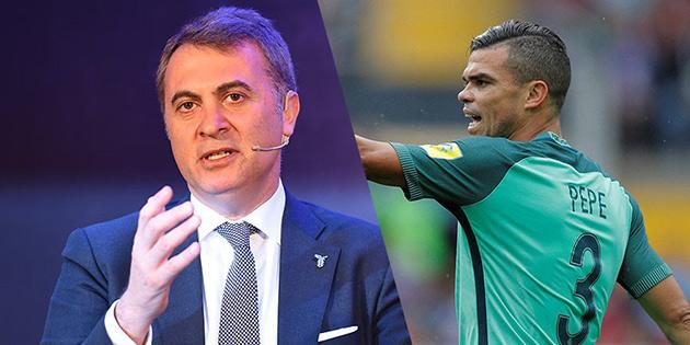 Fikret Orman: Pepe gelirse UEFA'yı alırız
