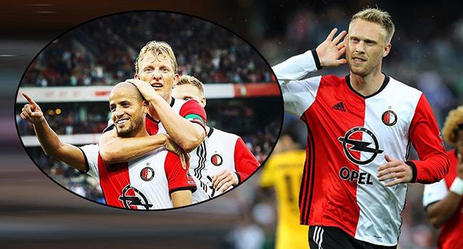 Feyenoord farkl� kazand�